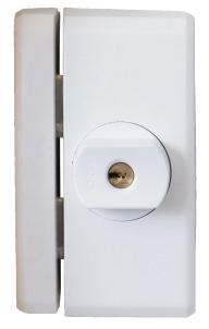 Secvest Funk-Fenstersicherung FTS 96 E (weiß) Vorderansicht