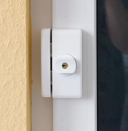 Secvest Funk-Fenstersicherung FTS 96 E (weiß) Anwendungsbeispiel