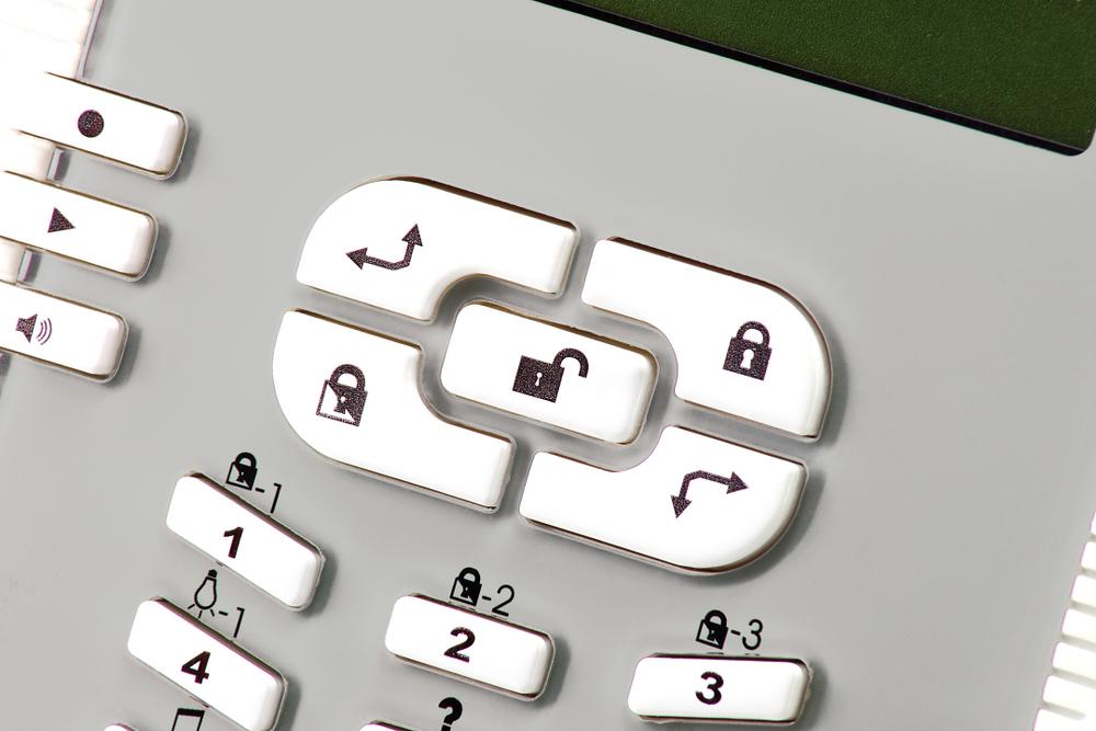 abus privest wireless alarm control panel de fu9010. Black Bedroom Furniture Sets. Home Design Ideas