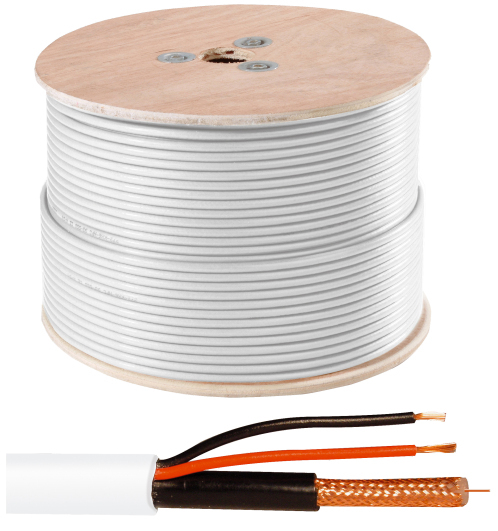 Video-Kombi-Kabel 100 m Ansicht Rechts