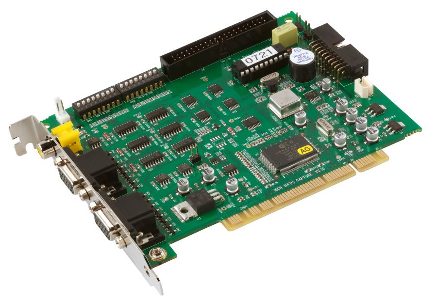 ABUS PCI Videoüberwachungskarte 16 CH @ 25 FPS (TV3302)