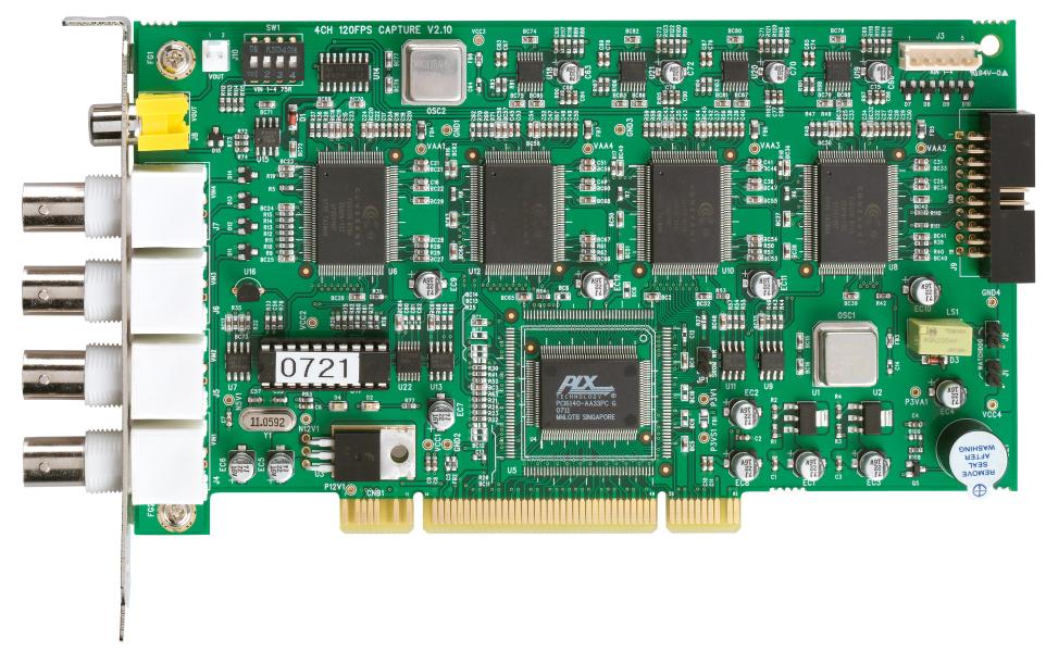 ABUS PCI Videoüberwachungskarte 4 CH @ 100 FPS (TV3305)