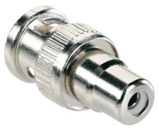 BNC/RCA-Adapter Vorderansicht