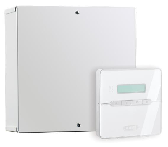 Terxon MX Kompakt Alarmzentrale Ansicht Rechts