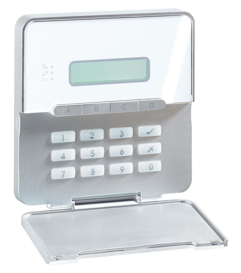 abus terxon mx alarm control panel az4100. Black Bedroom Furniture Sets. Home Design Ideas