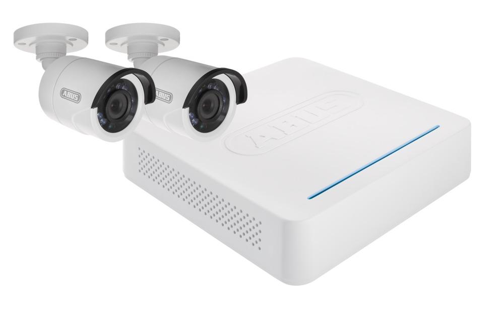 Wybitny ABUS Analogowe Zestawy Monitoringu HD: 4-kanałowa Nagrywarka DY32