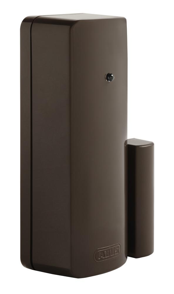Secvest Funk-Öffnungsmelder (FSL) braun - zuverlässige Detektion geöffneter Türen und Fenster (FUMK50010B)