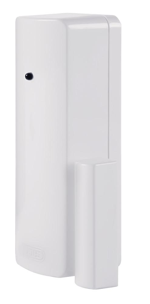 Secvest Funk-Öffnungsmelder (CC) weiß - zuverlässige Detektion geöffneter Türen und Fenster (FUMK50000W)