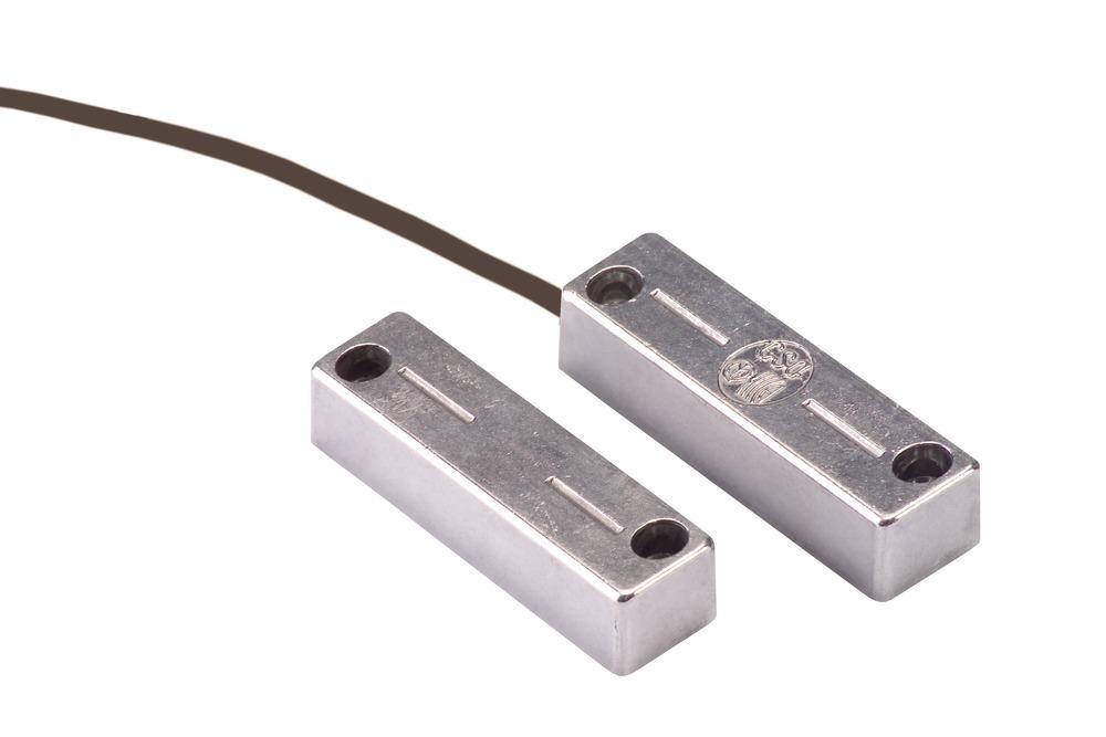 Öffnungsmelder für Stahltüren VdS B Vorderansicht