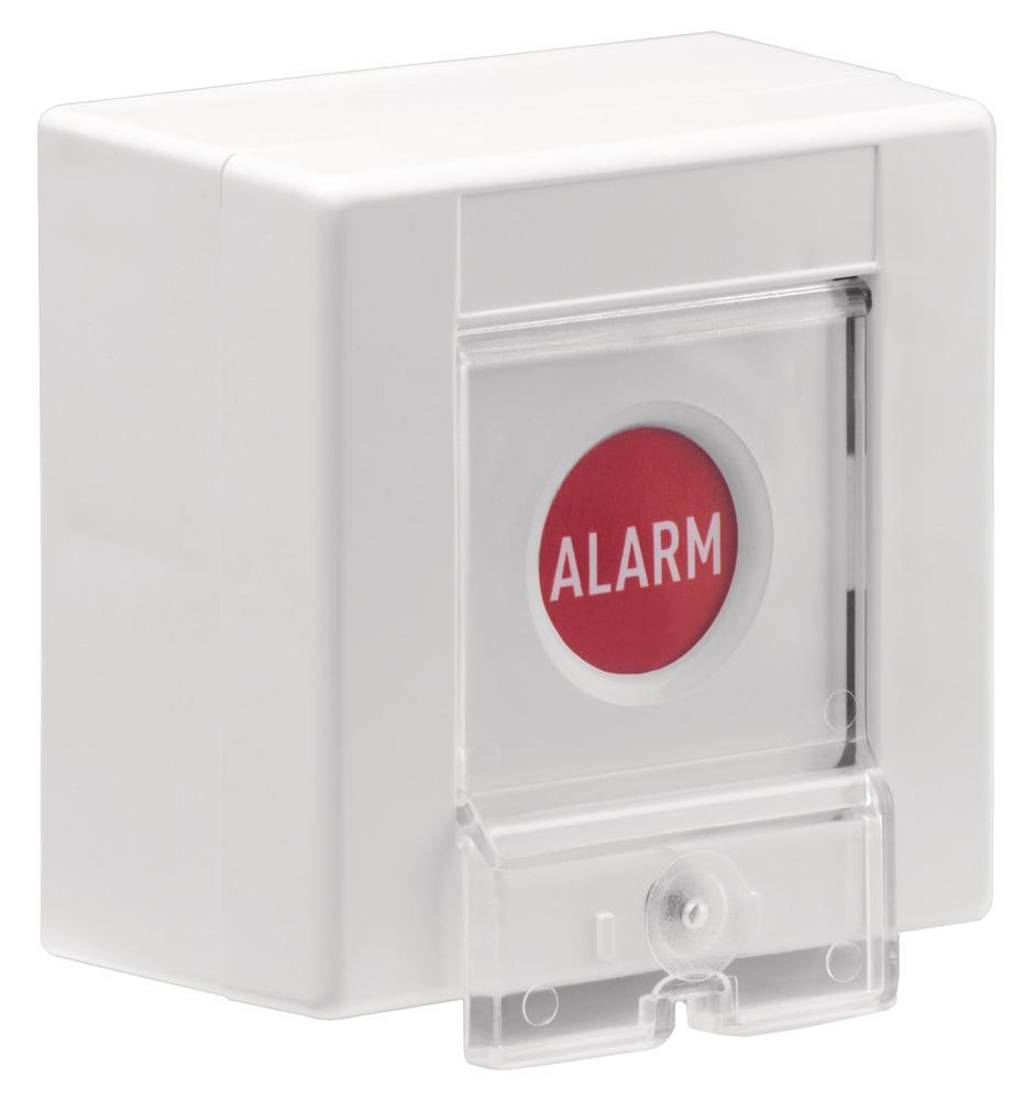 Papiereinsatz Funk- und Draht-Überfalltaster (5 Stück) Vorderansicht