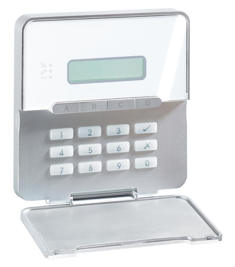 Terxon MX Alarmzentrale Rechte Vorderansicht