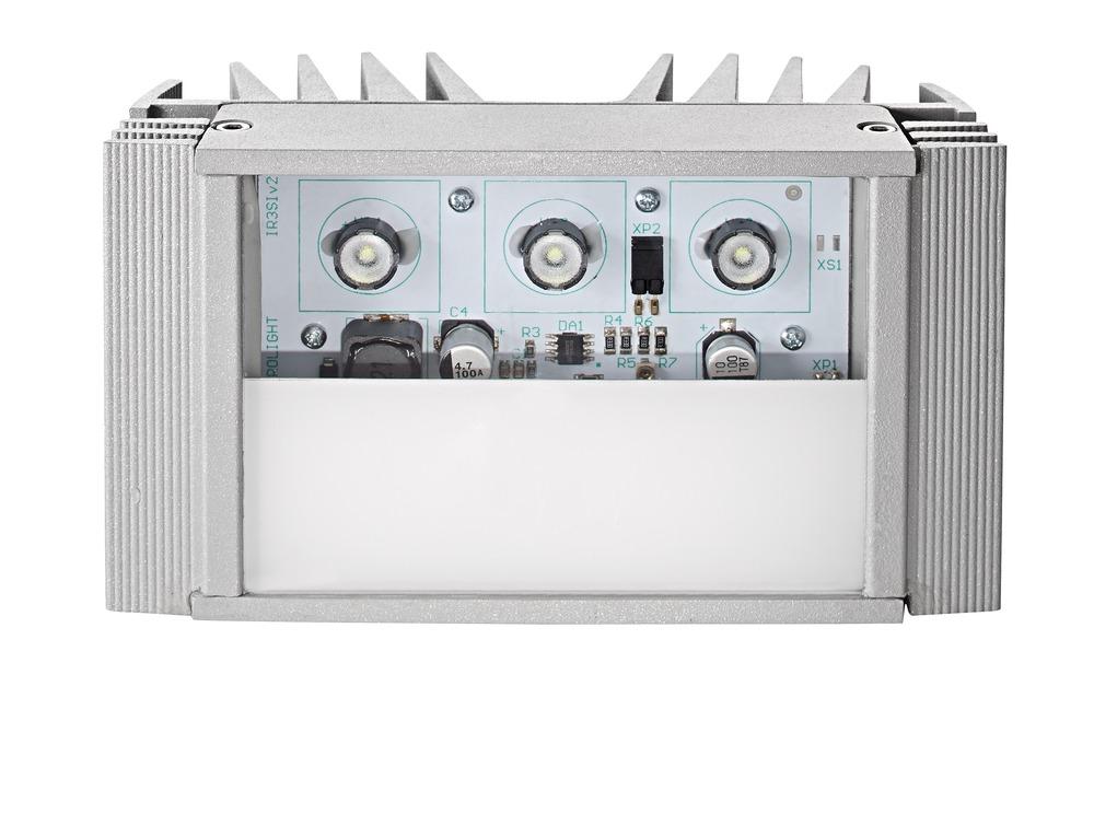 WL-Strahler S - 6300K, 60°, 14m Vorderansicht