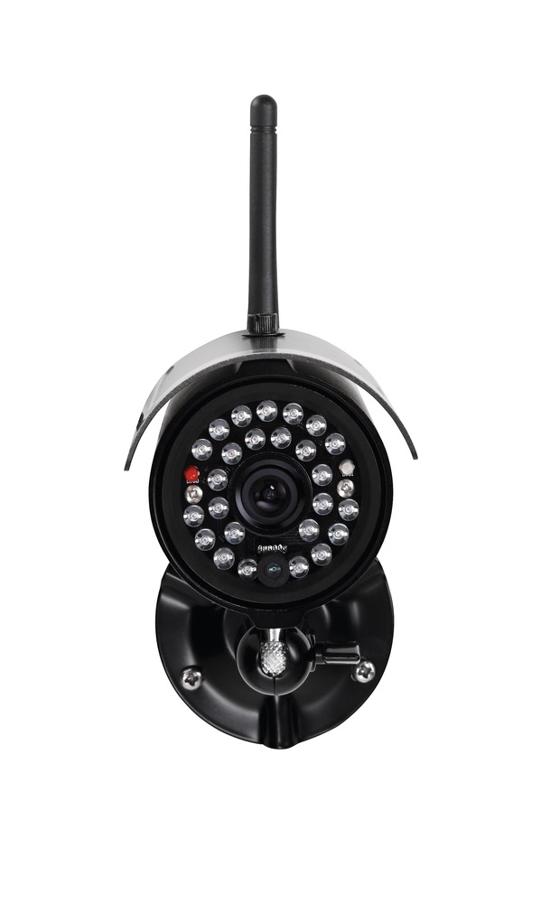 Abus cam ra d 39 ext rieur infrarouge sans fil 2 4 ghz pour for Camera exterieur sans fil