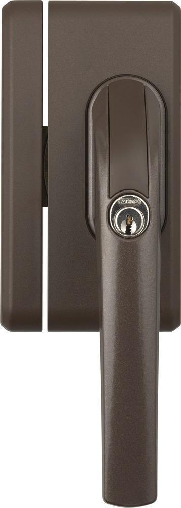 Secvest Funk-Fenstergriffsicherung FO 400 E - AL0125 (braun) Vorderansicht