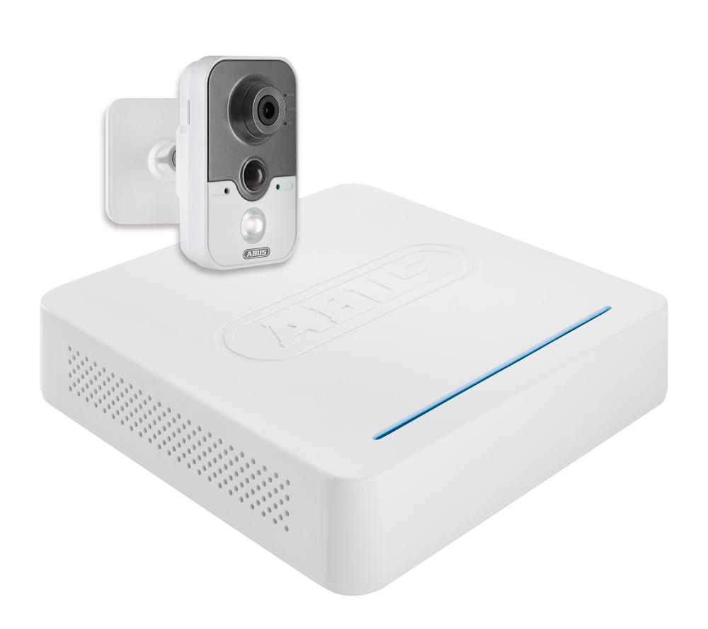 ABUS Videoüberwachungsset: Netzwerk Digitalrekorder + 1 Innenkamera ...