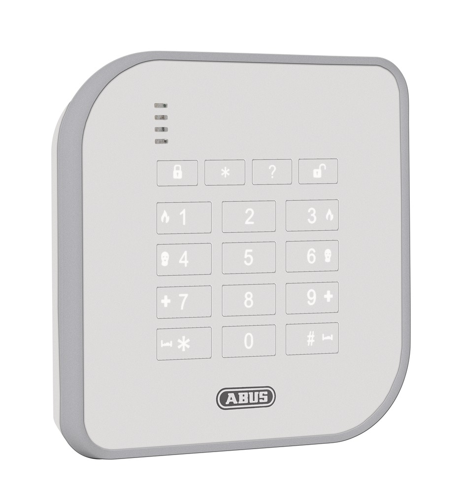 abus secvest wireless control device fube50000. Black Bedroom Furniture Sets. Home Design Ideas