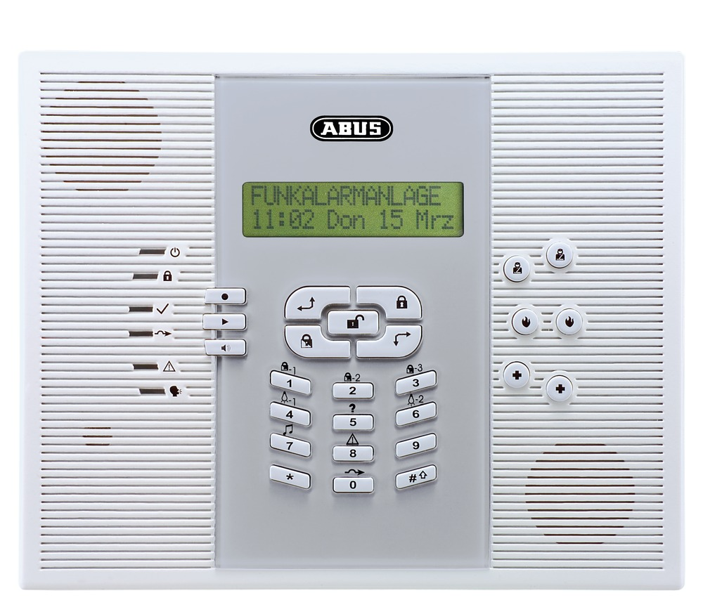 abus privest funk alarmanlage zentrale deutsch fuaa30010. Black Bedroom Furniture Sets. Home Design Ideas