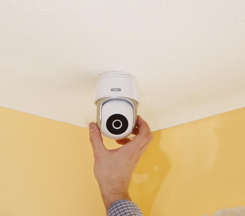 abus caméra dôme pan tilt wi-fi & app (tvac19000a)