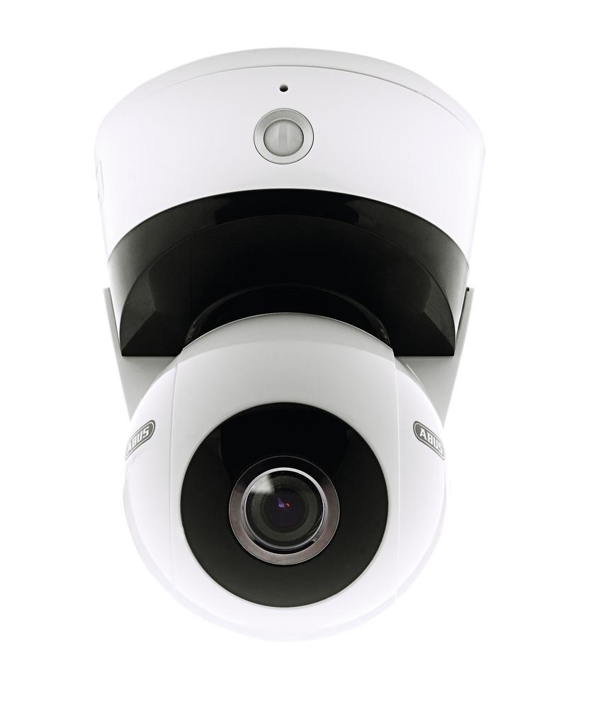 abus caméra d'intérieur pan tilt zoom wi-fi hd 720p (tvip21560)