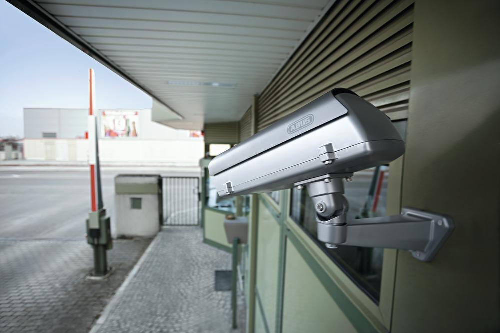 Wetterschutzgehäuse mit Heizung u. Netzteil Anwendungsbeispiel