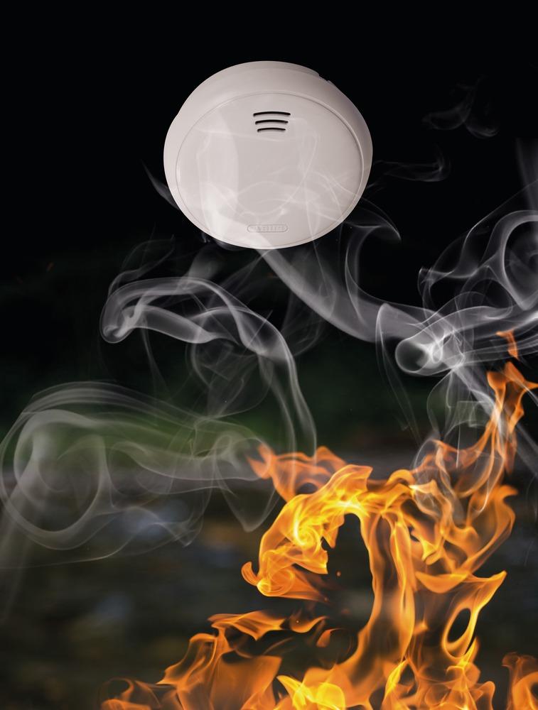 abus d tecteur autonome avertisseur de fum e 10 ans grwm30500. Black Bedroom Furniture Sets. Home Design Ideas