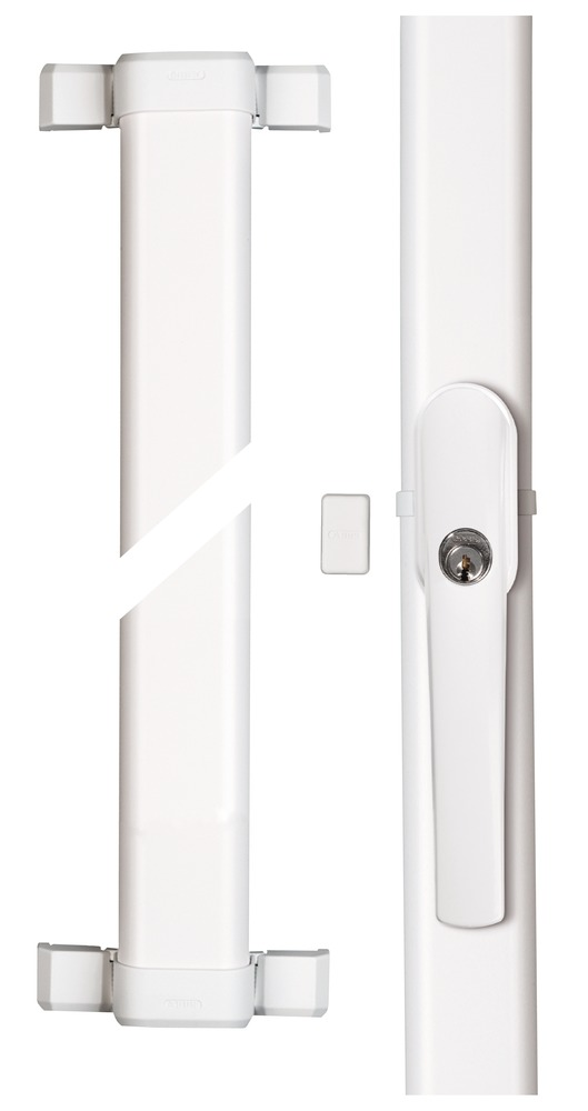Secvest Funk-Fensterstangenschloss FOS 550 E (weiß) Vorderansicht