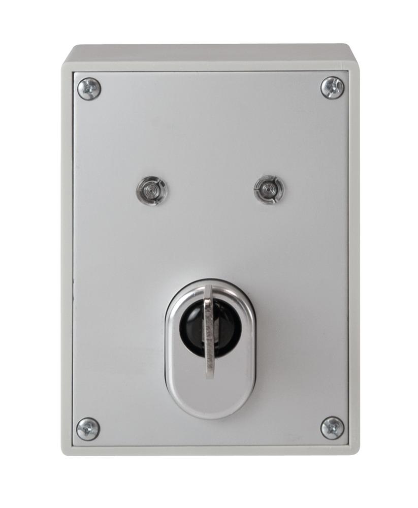 Schlüsselschalter inkl. ABUS Qualitätszylinder