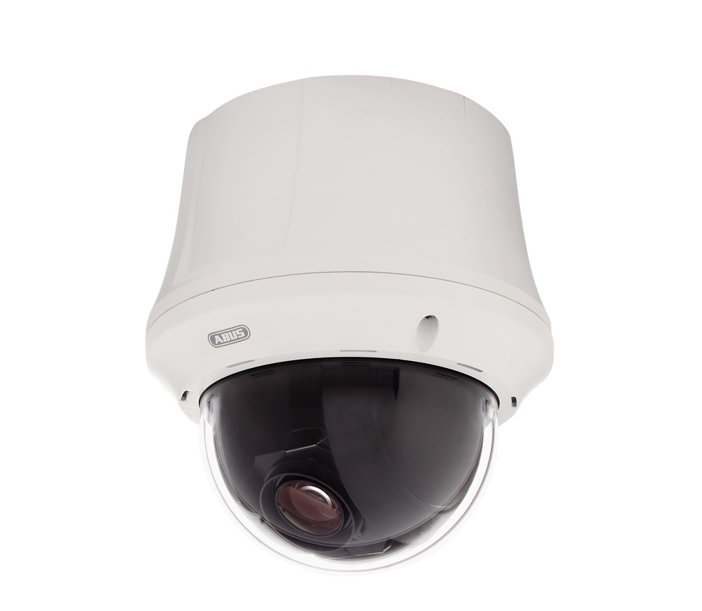 Innen Analog HD 23 x PTZ Dome 720p Linke Vorderansicht