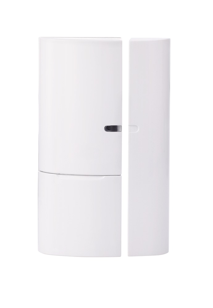 ABUS Smartvest Funk-Öffnungsmelder – kabellose Überwachung von Fenstern und Türen mit der Smartvest Zentrale (FUMK35000A)