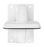 Wall mount bracket for IP dome camera front view