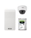 ABUS IP video surveillance 6-Channel Wi-Fi complete set