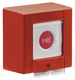 Secvest 2WAY Wireless Fire Alarm Button right view