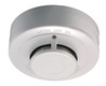 12 V optical smoke detector front view