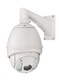 Outdoor HD-SDI 20x PTZ Dome IR 1080p front view right