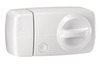 Secvest wireless additional door lock with rotary knob (white) front view