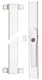 Secvest 2WAY FOS 550 E wireless window bar lock, white front view