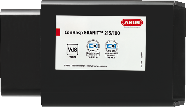 Containerschloss ConHasp Granit™ 215/100