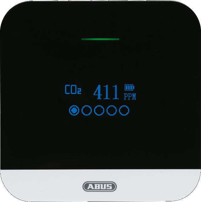 CO2 Warnmelder AirSecure CO2WM110 Frontansicht