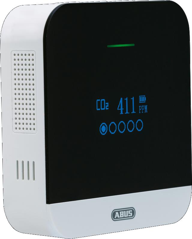CO2 Warnmelder AirSecure CO2WM110 Seitenansicht