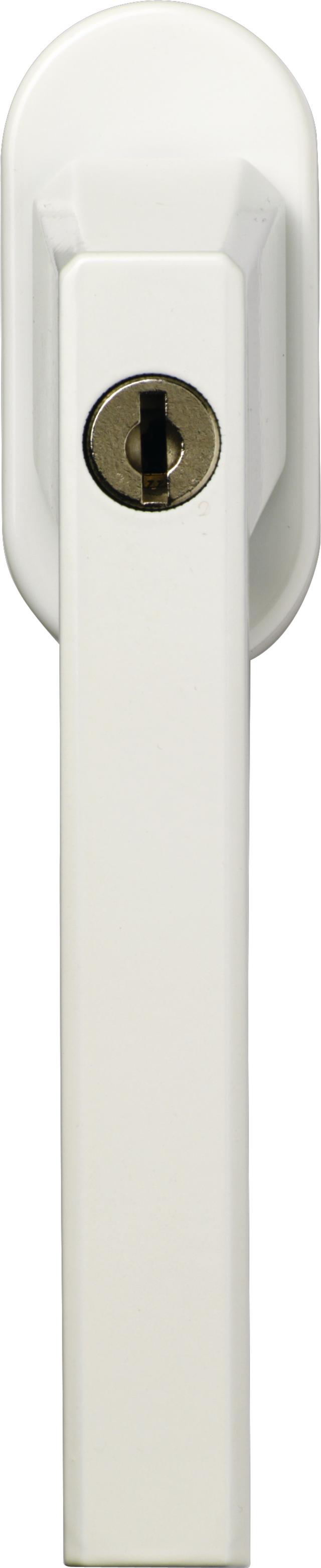 Abschließbarer Fenstergriff FG110 W Triples CL/DFNLI