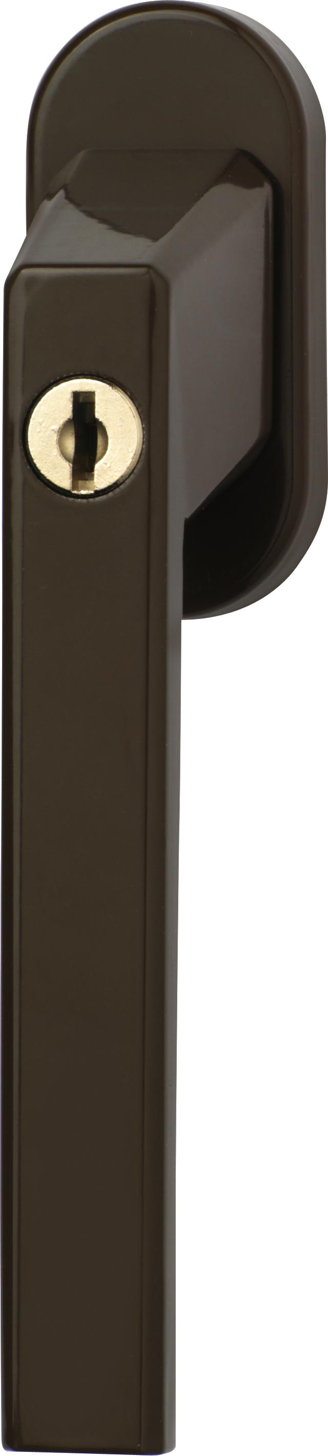 Abschließbarer Fenstergriff FG110 B Triples CL/DFNLI