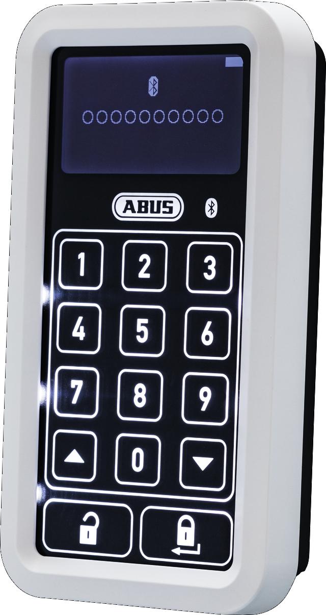 HomeTec Pro Bluetooth®-Tastatur CFT3100 weiß
