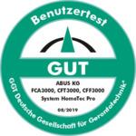 Benutzertest der GGT: GUT (08/2019)