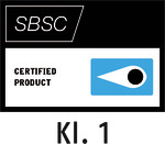 Testsiegel Svensk Brand- och Säkerhetscertifiering AB (Klasse 1) – Stockholm, Schweden (SBSC)