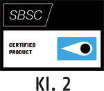 Testsiegel Svensk Brand- och Säkerhetscertifiering AB (Klasse 2) – Stockholm, Schweden (SBSC)