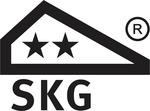 Testsiegel des holländischen Prüfinstituts SKG mit zwei Sternen