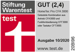 Stiftung Warentest GUT (2,4)
