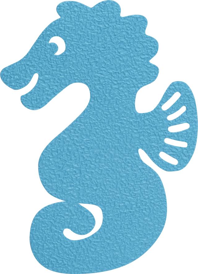 Anti-Rutsch-Badewannenaufkleber JC8710 KIM Seepferdchen