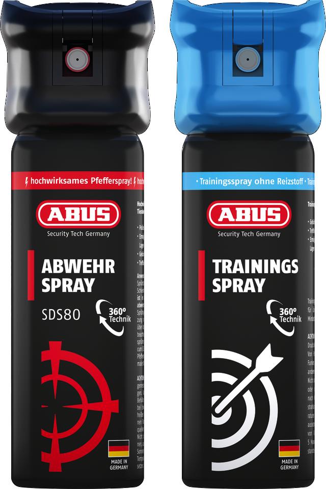 Abwehrspray SDS80 inkl. Trainingsspray TwinPack B
