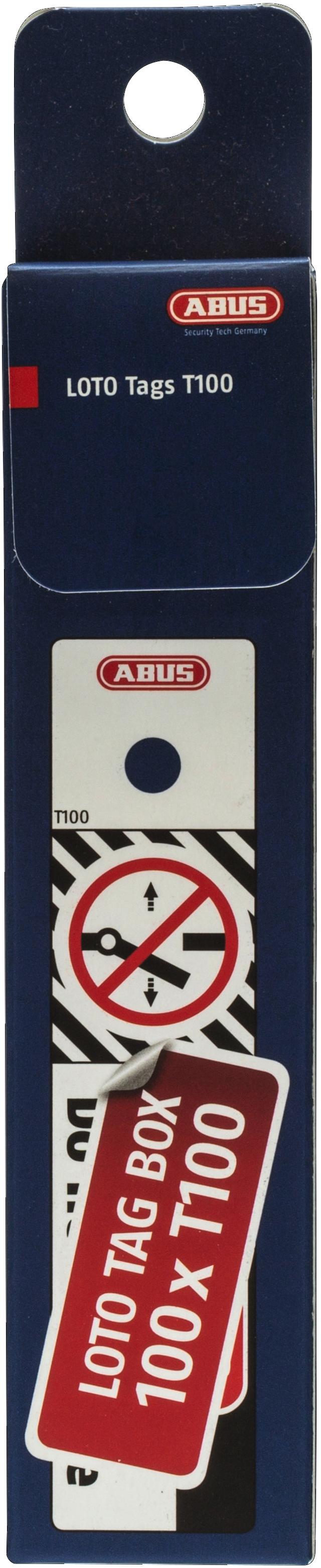 LoTo Kennzeichnungsschilder T100